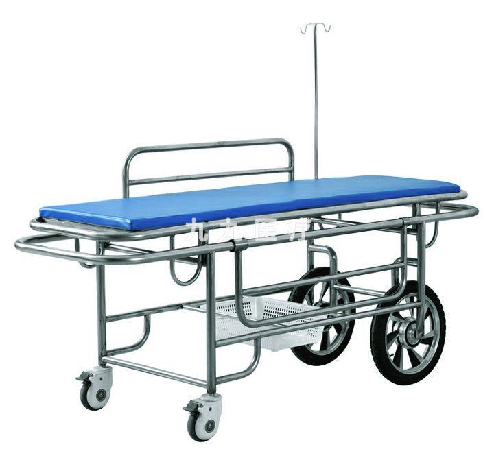 JF13 两大两小轮病人推车-电动车轮