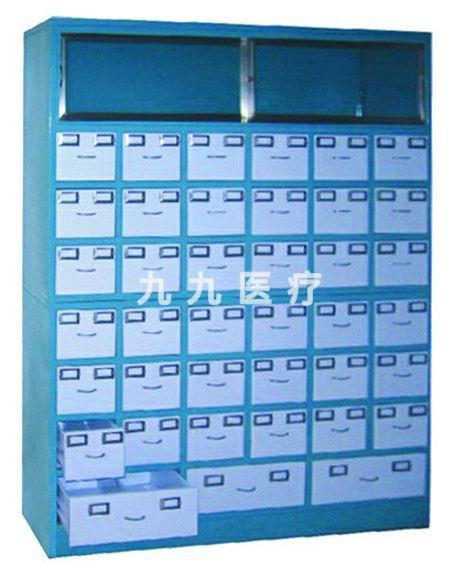 JG02碳钢中药柜